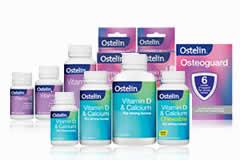 The Ostelin supplement range