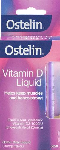 Vitamin D Liquid