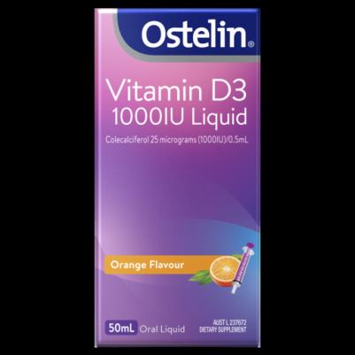 Vitamin D3 1000IU Liquid