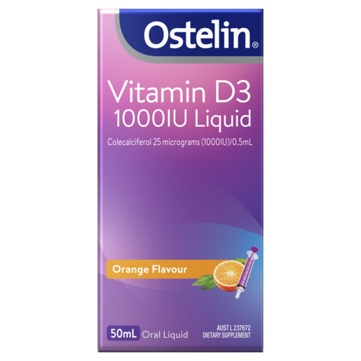 Vitamin D3 1000IU Liquid